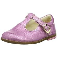Clarks Drew Shine T, Ballerine Bambina, Rosa (Pink Sparkle Lea Pink Sparkle Lea), 20 EU