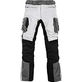 Motorradhose Pharao Reise Textilhose 2.0 grau/schwarz M