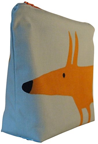scion-mr-fox-sky-tangerine-fabric-toiletry-bag-waterproof-lined-wash-bag-cosmetic-bag