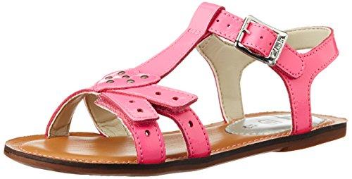 Clarks - Sandali infradito Loni Lola, Bambina, Rosa (Pink (Candy Patent)), 33