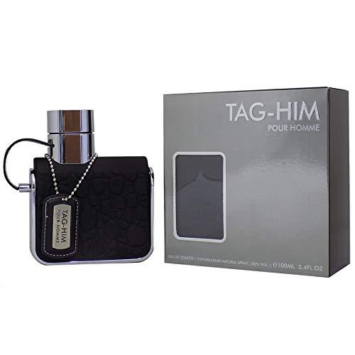 Armaf Tag Him Pour Homme 100ml/3.4oz Eau de Toilette Spray EDT Cologne for Men -