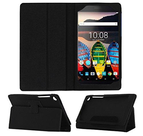 Acm Executive Flip Flap Case for Lenovo Tab 3 730x Tablet Full Cover Black