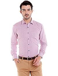 Donear NXG Mens Formal Shirt_SHIRT-1296-RED