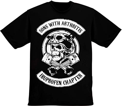 f25fcb5383a idcommerce Sons with Arthritis Ibuprofen ChapterT-Shirt pour Hommes Extra  Large