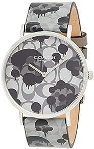 Coach Womens Quartz Wrist Watch, Analog and Leather- 14503248