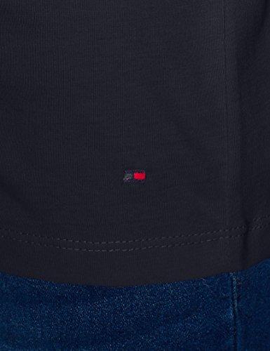 9cea2452 Tommy Hilfiger Aila C-nk Tee SS, T-Shirt Donna, Blu (Midnight 403 ...