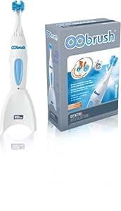 Brosse à dents électrique rechargeable OObrush- Double brosse pour nettoyer en profondeur simultanément l'intérieur et l'extérieur des dents