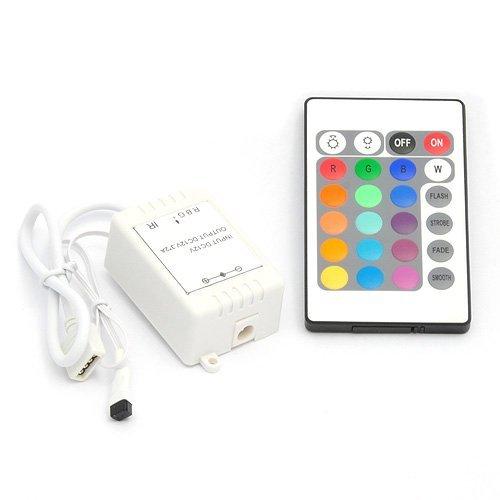 RICISUNG IR-Fernbedienung Controller für 5050 SMD RGB LED Strip