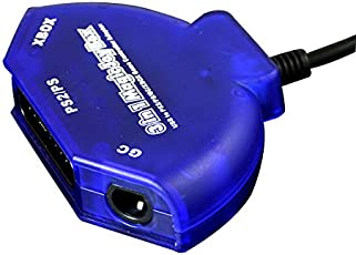 Mayflash Gamecube/PS2/XBox 3-in-1 Controller Adapter - Play your favorite Controller on your PC via USB