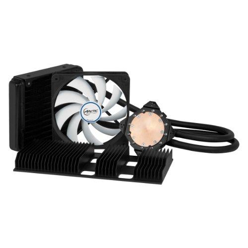 ARCTIC Accelero Hybrid II -120 - refroidissement par eau multicompatible pour carte graphique avec dissipateur thermique arrière pour un refroidissement amélioré de la RAM et du convertisseur de tension - dissipateur à liquide pour AMD R9 290, R9 290X et autres ... NVIDIA Geforce GTX Titan, 780, 680 et autres....