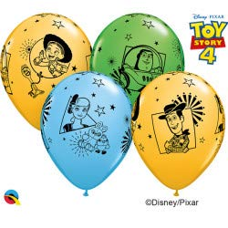 tons of fun balloons Toy Story 4 11 Zoll Latexballon 5 Stück (Toy Zoll Story)