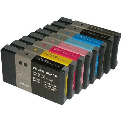 1 Set of 8 ( T6031 - T6039) ColourDirect Cartucce d