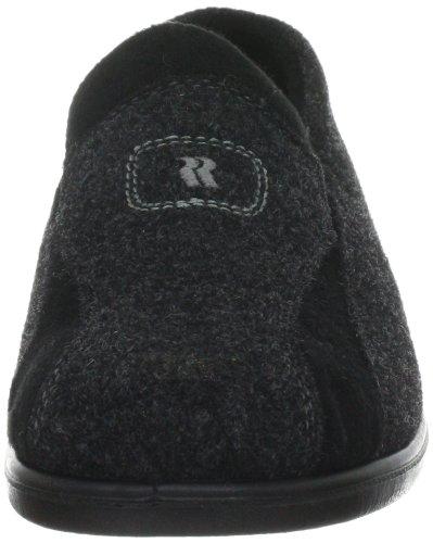 Romika Präsident 108 73308, Chaussons homme Gris - Gris anthracite (700)