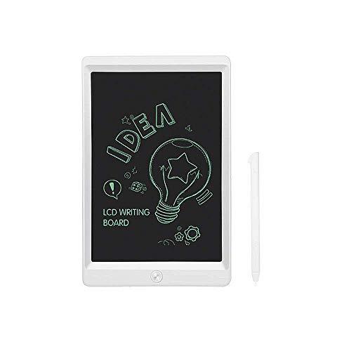 JOEAIS Tablette d'écriture LCD 8.5 Pouces d'écriture électronique Planche à Dessin numérique Tablette Graphique de Dessin Convenant aux Enfants, à la Maison, à l'école et au Bureau (Blanc)