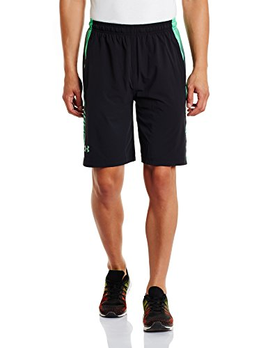 Under Armour HeatGear Supervent Trainingsshort Herren schwarz / grün