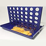 HibiscusElla Three-dimensional Four-game Chess Early Education Parent-child Interaction 1 Set Connect 4 In A Line Board Classic Game