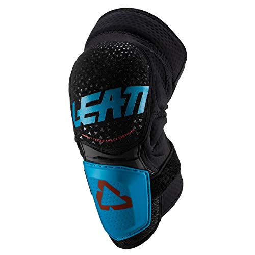86215a87301b7 Leatt 3DF Hybrid Adulto off-Road Ciclismo BMX – Ginocchiere  Carburante/Nero/Small/Medium