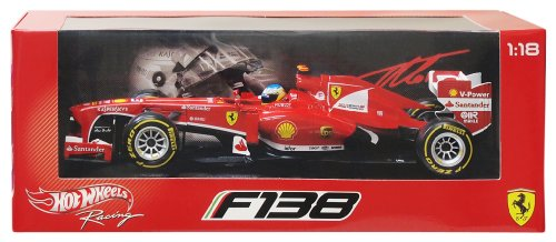 Hot Wheels - Ferrari F1 - F138'13 Fernando Alonso (BCK14)