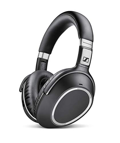Sennheiser PXC 550 Wireless NoiseGard Adaptive Noise Cancelling, Bluetooth Headphone with Touch Sensitive Control and 30-Hour Battery Life - Black