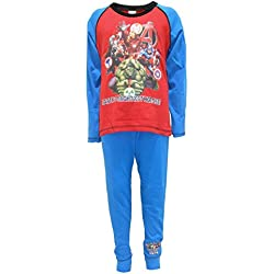 Marvel Avengers Earth's Mightiest Hereos Boys Pijamas de Algodón 9-10 Años
