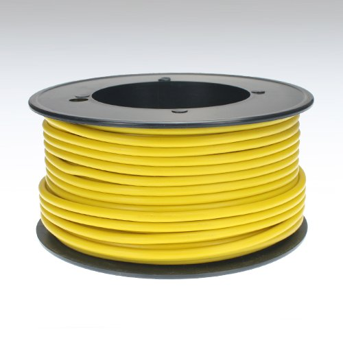 Preisvergleich Produktbild Kabel 2,5 qmm gelb 25m Litze Leitung Fahrzeug Auto