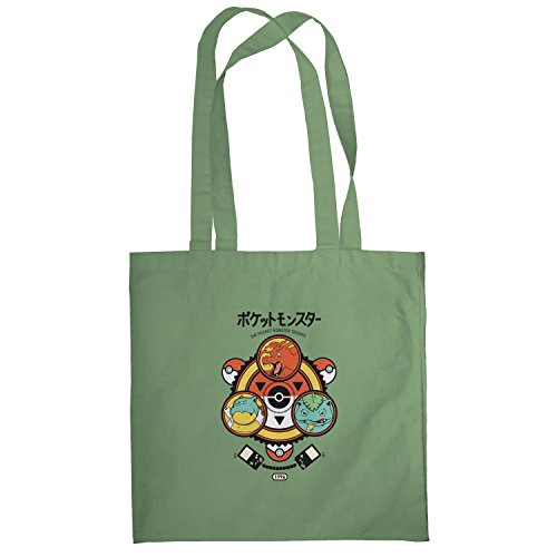 Texlab–Poke Trainer–sacchetto di stoffa Oliva