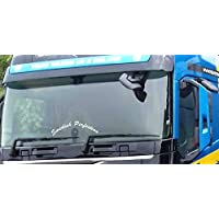 Totally Graphics Swedish Perfection Curved Truck Windscreen Sticker