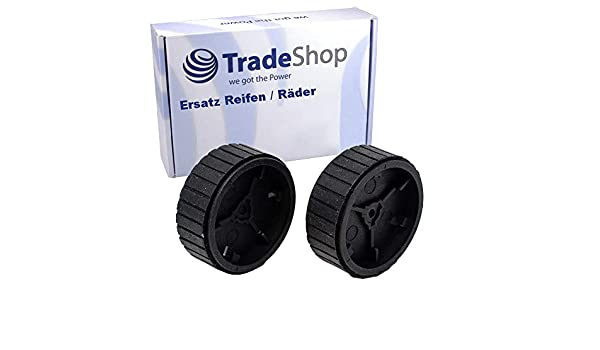 2 Stücke Wischen Räder Reifen Für IRobot Braava Mint Plus 5200C 380T 320 321 Kit