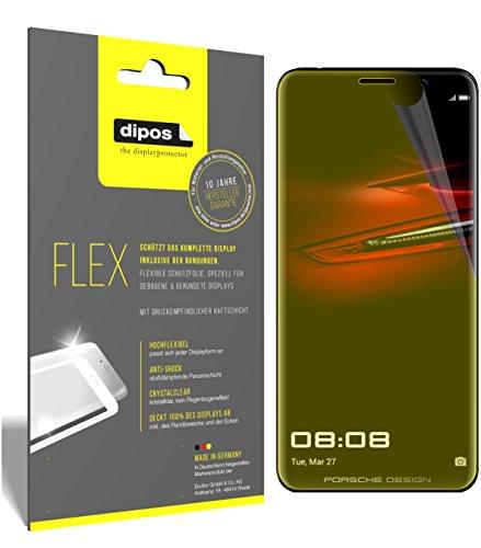 dipos I 3X Schutzfolie 100% passend für Huawei Mate RS Porsche Design Folie (Vollständige Displayabdeckung) Displayschutzfolie