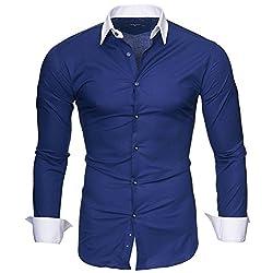Kayhan Hombre Camisa Manga...