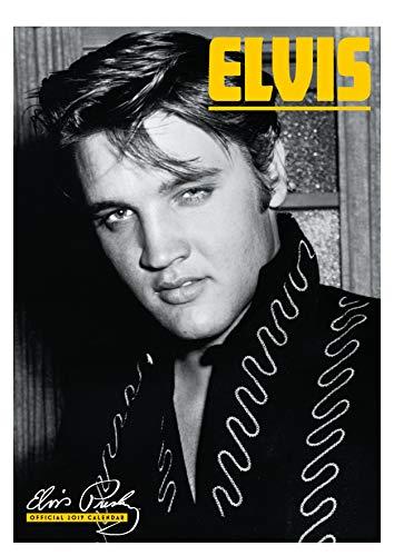 Elvis Official 2019 Calendar - A3 Wall Calendar Format -