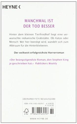 Livres Couvertures de Friedhof der Kuscheltiere: Roman