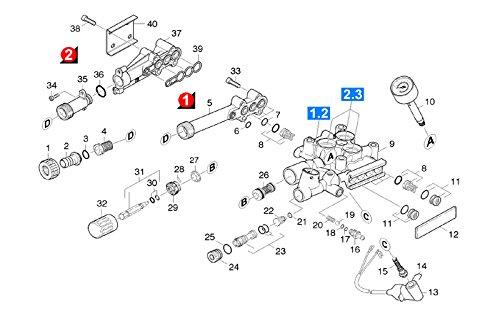 Manometre Rep 10 Référence : 64213493 Pour Nettoyeur Haute-pression Karcher
