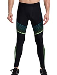 Cody Lundin® Hombres Compresión Deporte Pantalones Moda Guay Impreso Medias Polainas Corriendo Gimnasio Capa base