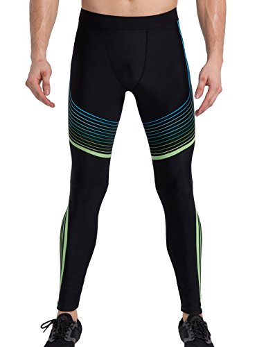 Cody Lundin® Hombres Compresión Deporte Pantalones Moda Guay Impreso