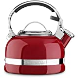 KitchenAid KTEN20SBER 1.9L Rojo, Acero inoxidable tetera - teteras (190,5 mm, 190,5 mm, 204,1 mm)