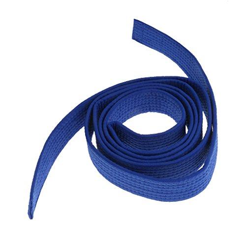 MagiDeal Correa Cinta De Taekwondo Cintur/ón Algod/ón Fieltro Artes Marciales Core Color TKD