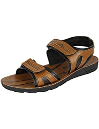 Earton Men's Brown EVA Sandals & Floaters
