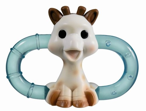 Sophie The Giraffe Double Ice Bite Teething Ring in Blister Pack (Multicoloured) 419GhSc16dL