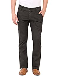 Olive Green Smart Fit Trouser