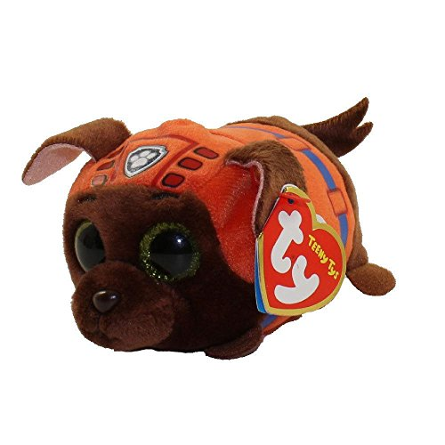 Teeny Ty Paw Patrol - Zuma the Chocolate Labrador - 8cm 3""