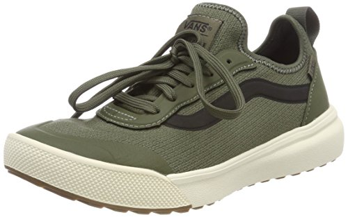 Vans Unisex-Erwachsene Ultrarange Ac Sneaker, Grün (Knit), 43 EU (Skate Schuhe Grün)