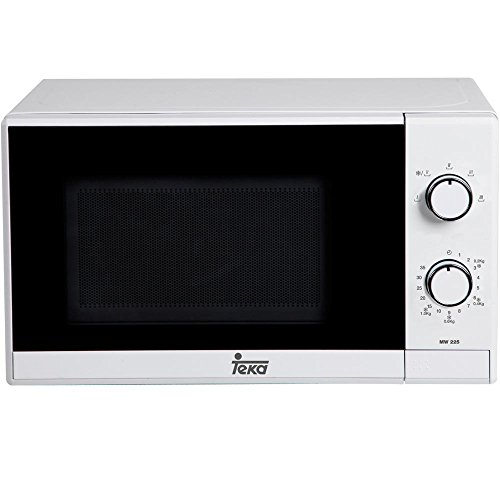 Teka MW 225 - Microondas , 1050 W, 20 litros, color blanco