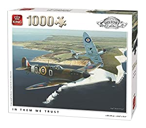 King History Collection In Them We Trust 1000 pcs Puzzle - Rompecabezas (Puzzle Rompecabezas, Historia, Adultos, Ivan Berryman, Hombre/Mujer, 8 año(s))