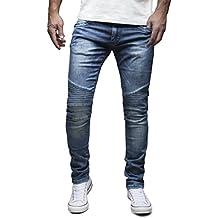 MERISH Herren Jeanshose Chino SLIM FIT Jeans Hose 4 Farben Neu Style Trend J1166