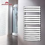 ZYT Eléctricos de pared calentador baño calentador de pared calentador cromado 1000 x 500