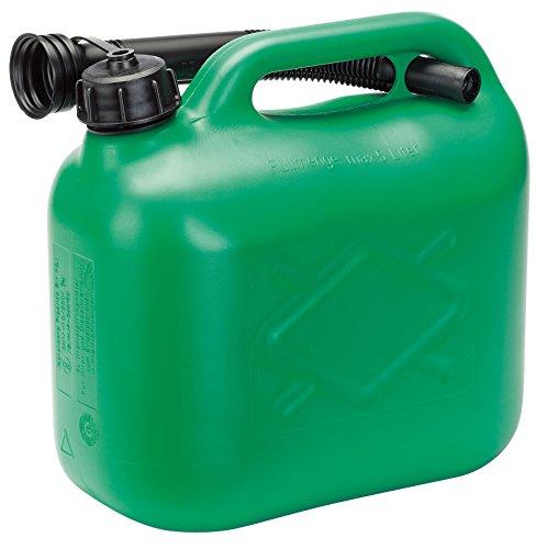 Draper 82690 5l plastic fuel can - green
