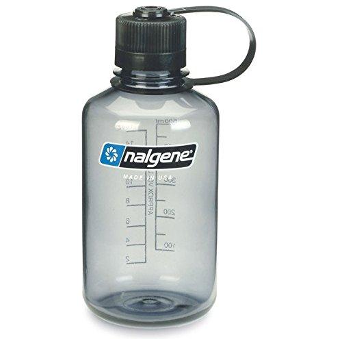 Nalgene 0,5 l Outdoor Classic Narrow Mouth Bottle Grau Trinkflasche -