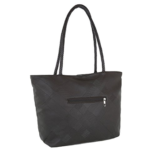 Taschen Tragetasche Schultertasche Modell Nr.1 Dunkelbraun