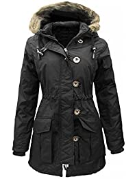 GIRLS BLACK COAT JACKET Quilted HOODED SCHOOL CLOTHING AGE 5-6, 7-8, 9-10, 11-12, 13 !!EXCELLENT QUALITY AND A PERFECT FINISH!! MADE IN UK PADDED WINTER COAT